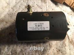 12v Ccw Electric Pump Motor Mte Hydraulics W-8935 46-2042 Mdy6203 Mdy6203s