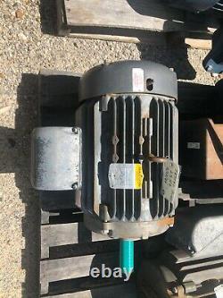 25 hp Baldor Industrial electric motor. 1760RPM, 284T, EM4103T