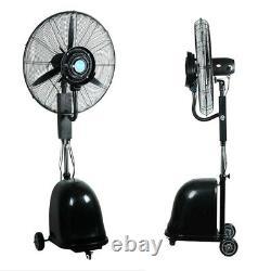 26 Industrial Dust Remover Sprayer Humidifying Fan Air Filter System 110V