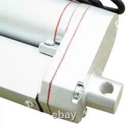 2PCS 12 inch Linear Actuator 330lbs DC12V Motor for Electric Medical Industrial