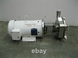 2-1/2 x 2 Ampco LFR140-180TC Centrifugal Pump 5 HP Motor Z51 (2852)