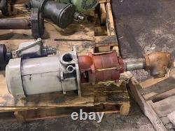 2 HP Mitsubishi NQ-1503A Coolant Pump withSuper Line Motor, AF-SERV 1.5kW 3Ph 220V