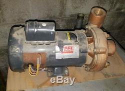 2 Hp Teel #2XZ14 Bronze Centrifugal Shallow Well Water Pump, 115/1/60, 3450 RPM