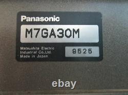 2 Panisonic Matsushita Electric Industrial Motor M/N M7RA15G4Y with2 M7GA30M