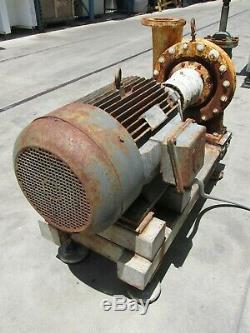 30 HP INDUSTRIAL ELECTRIC MOTOR with ARMSTRONG WATER PUMP