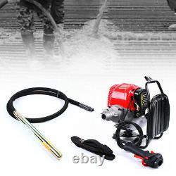 4 Stroke Industrial Tool Electric Concrete Vibrator Backpack Motor 3M Poker Set