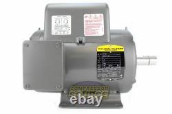 5 HP 3450 RPM 1 Phase Industrial Baldor Electric Motor 184T Frame L1409T 230 V