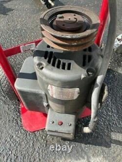 5hp Baldor Compressor Duty Industrial Electric Motor, 184t, 1725 Rpm, 208-230v