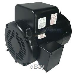 7.5hp Baldor Compressor Duty Industrial Electric Motor, 215t, 1740 Rpm, 208-230v