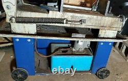 ACRA Industrial Metal Cutting Band Saw Horizontal Blade 7 x 12 Movable Blade