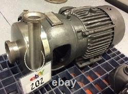 APV CREPACO 8V STAINLESS STEEL CENTRIFUGAL PUMP 3 x 1-1/2 BEVEL SEAT IN/OUT
