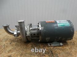 APV Pump 4V2 WithReliance Electric Motor P56X3166.25HP 230/460V. 8/. 4A 1750RPM