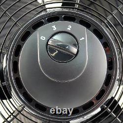 Air King 12 Inch 1/25 HP 3-Speed Indoor Industrial Open Motor Pivoting Floor Fan