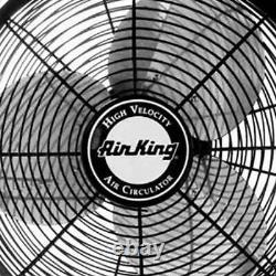 Air King 18 1/16 HP Motor 3-Speed Enclosed Ceiling Mount Fan (Open Box)