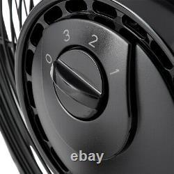 Air King 18 Inch 1/6 HP 3-Speed Indoor Industrial Open Motor Pivoting Floor Fan