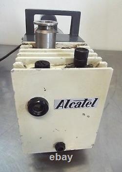Alcatel Vacuum Pump Ty. ZM2004 No. 22787 With Dayton Motor 1/2HP 1725RPM S2670x