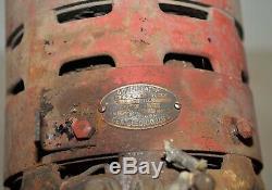 Antique General Electric GE AC motor & DC generator 175 KW 12v industrial Dynamo