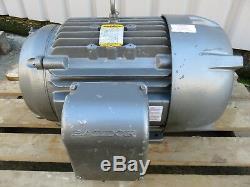BALDOR 10C107W814G1 30HP Industrial Electric Motor 1450rpm