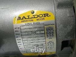 BALDOR Electric Industrial Motor CJM3115 34F29-3226 1 HP Three Phase