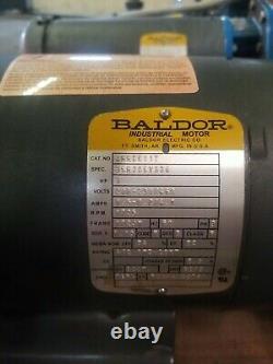BALDOR INDUSTRIAL MOTOR JMM3611T 3HP 1725 RPM WithGOULD 4SS45 PUMP