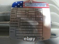 Baldor 1G356719 7-1/2HP Automotive Industry Electric Motor 460V 3245RPM 215Frame