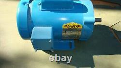 Baldor. 5 HP AC Electric Industrial Motor 56C 115/230 V 1ph 1425 RPM