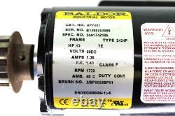 Baldor Electric AP7401 Industrial Motor. 13Hp, 90V DC, 1725 RPM, 1.30 Amp