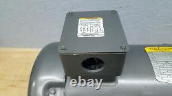 Baldor Electric Industrial Motor 5hp 215tc 3ph 208-230/460v 1160rpm Cm3708t Used
