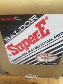 Baldor Super-E industrial 30 hp electric motor, 40G070W942G3, 230/460V, 1770 rpm