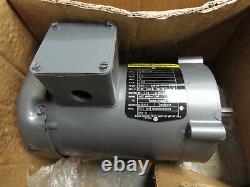 Baldor VM3538-5 Electric Industrial Motor. 5HP 1725RPM 575V 3PH 56C Frame 5/8Sh