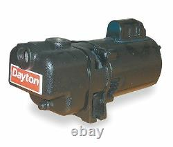 Brand New 4UA76 Dayton Self Priming 2hp Centrifugal Pump 1ph 115/230 volts