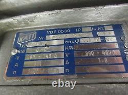 Busch RA 0016 B 5L3 Single Stage Rotary Pump with Katt FN80 Motor
