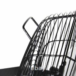 Comfort Zone CZHVW18 High-Velocity Industrial 3-Speed 18 Wall-Mount Fan