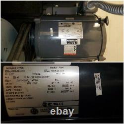 D7P2B US Electrical Industrial Motor 230/460v R341 7.5HP