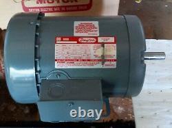 Dayton Industrial Electric Motor 3/4 HP / 1725 RPM / 3 Phase Model #- 2N866Q NOS