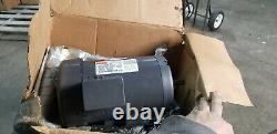 Dayton Industrial Electric Motor HP 2 Mod No# 3N486D new 3ph 1725 rpm 1 ph 56H