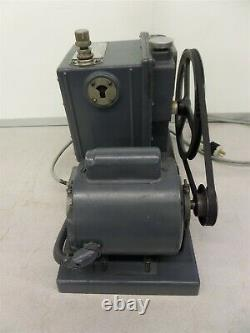 DuoSeal 1402 Electric Vacuum Pump GE AC Motor 5KC42JG14E