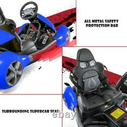 Electric Go Kart 12V Double Drive Motor For Boys & Girls Race Car Drifting Gift