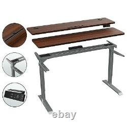 Electric Home Office Standing Desk Height Adjustable Stand Up Desk With Split Top