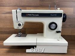 FRISTER ROSSMANN 5901-0 Electric Motor Sewing Machine With Foot Pedal WORKING