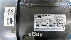 Finish Thompson Vkc6 Centrifugal Vertical Mag-drive Pump Weg Motor 1 HP 115/230v
