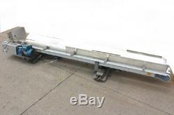 Flexlink Dual V Table Top Conveyor System 10' x 1.75 Sew EuroDrive Gear Motor