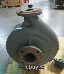 Flowserve Centrigual Pump D814-3X2X13F 325 GPM with 15 HP 1775 RPM 3 Ph AC Motor