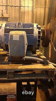 GE Electric Industrial Motor 40 HP 1775 RPM 230/460 Volts
