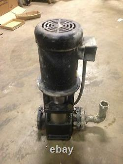 GRUNDFOS CR8-30 Pump And Motor 3 Hp 3 Phase 42 GPM, 230 PSI