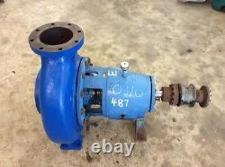 Goulds 3175 Pump 8x10-18 with 4 Vane SS Impeller #55389 #55523- High Flow