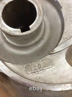 Goulds Pump Impeller 3175 18x18x22H 5 Vane 316 SS Goulds PN 63075