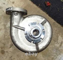 Goulds Pump Impeller Housing Head Stainless Steel Pump Body D00302B01 D00302801