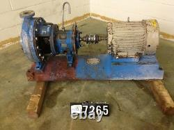 Goulds model 3196 MTX size 1.5x3-13 with base and 10hp motor SKU PT 7265