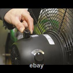 HVF20PO Sealey Industrial High Velocity Oscillating Pedestal Fan 20 230V Fans